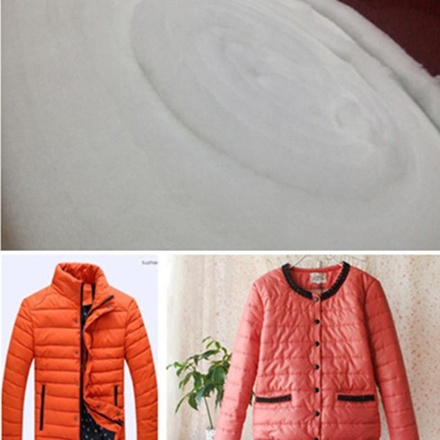仿丝棉 服装 家纺 家具填充物